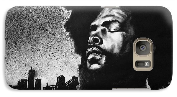 Galaxy Case featuring the painting Questlove. by Darryl Matthews