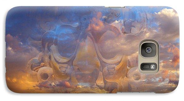 Galaxy Case featuring the photograph Quetzalcoatl by John  Bartosik