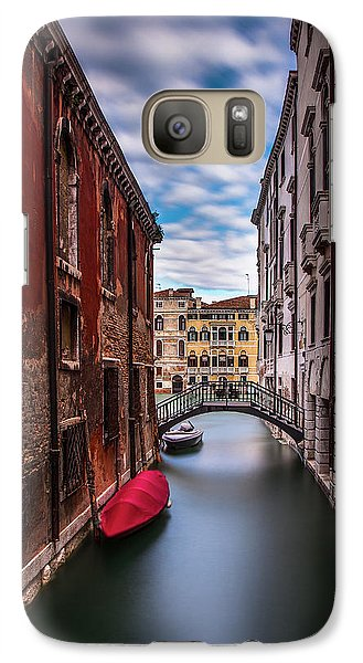 Galaxy Case featuring the photograph Quiet Canal In Venice by Andrew Soundarajan
