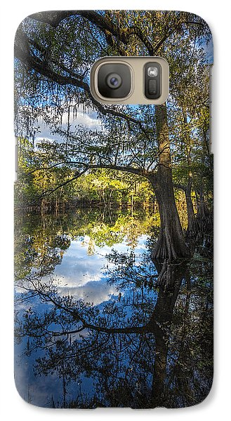 Ibis Galaxy S7 Case - Quiet Embrace by Marvin Spates