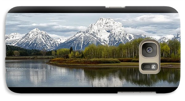 Galaxy Case featuring the photograph Quiet Morning At Oxbow Bend by Jaki Miller