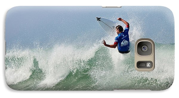 Galaxy Case featuring the photograph Quiksilver Pro France I by Thierry Bouriat