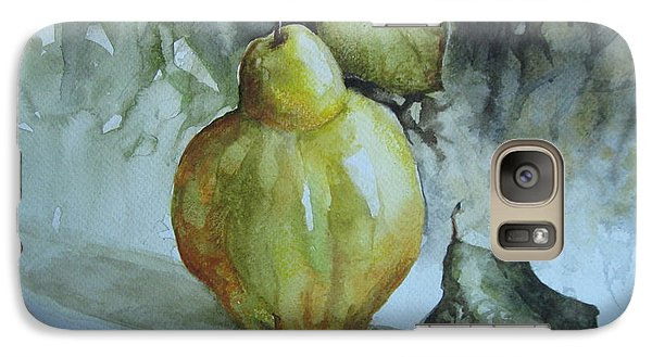 Galaxy Case featuring the painting Quince... by Elena Oleniuc