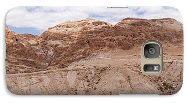 Galaxy Case featuring the photograph Qumran National Park by Yoel Koskas