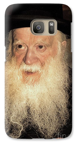 Galaxy Case featuring the photograph Rabbi Yehudah Zev Segal by Doc Braham