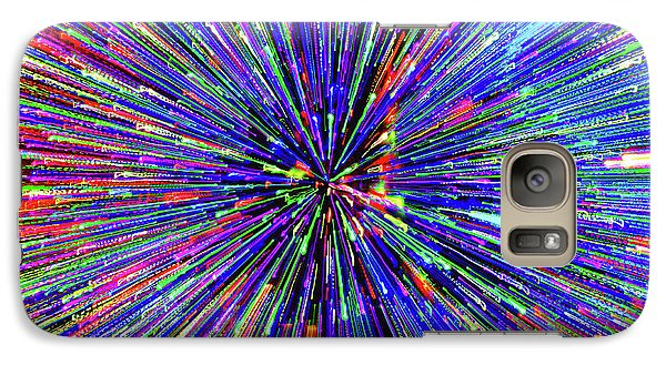 Galaxy Case featuring the photograph Rabbit Hole by Tony Beck