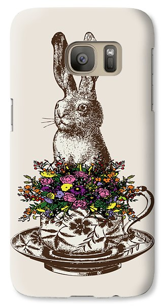 Rabbit In A Teacup Galaxy S7 Case