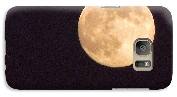 Galaxy Case featuring the photograph Rabbit In The Moon by Phyllis Kaltenbach