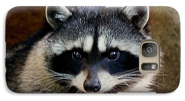 Galaxy Case featuring the photograph Raccoon by Janice Spivey