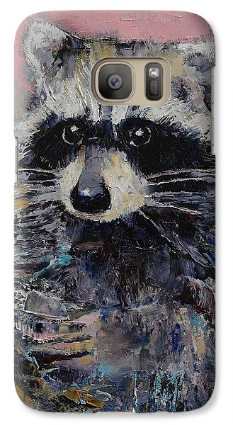 Raccoon Galaxy S7 Case