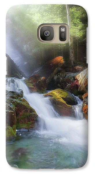 Galaxy Case featuring the photograph Race Brook Falls 2017 by Bill Wakeley