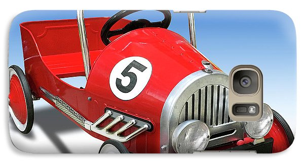Galaxy Case featuring the photograph Race Car Peddle Car by Mike McGlothlen