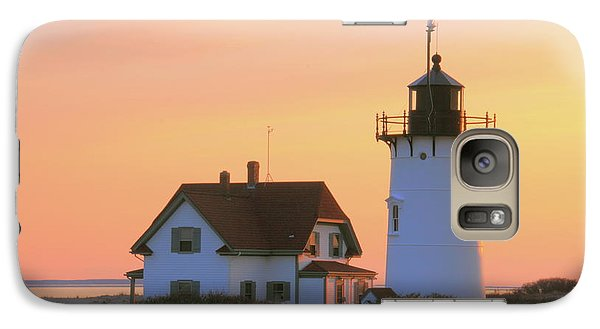 Galaxy Case featuring the photograph Race Point Light by Roupen  Baker
