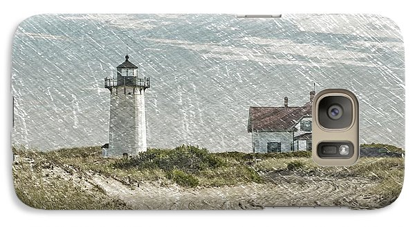 Galaxy Case featuring the photograph Race Point Lighthouse by Paul Miller