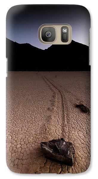 Galaxy Case featuring the photograph Racetrack by Allen Biedrzycki