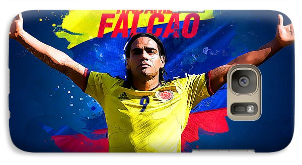 Radamel Falcao Galaxy Case by Semih Yurdabak