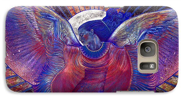 Galaxy Case featuring the painting Radiance by Ragen Mendenhall