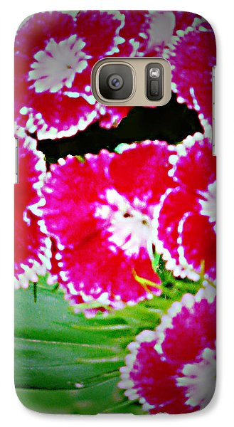 Galaxy Case featuring the photograph Radiant Red  by Debra     Vatalaro