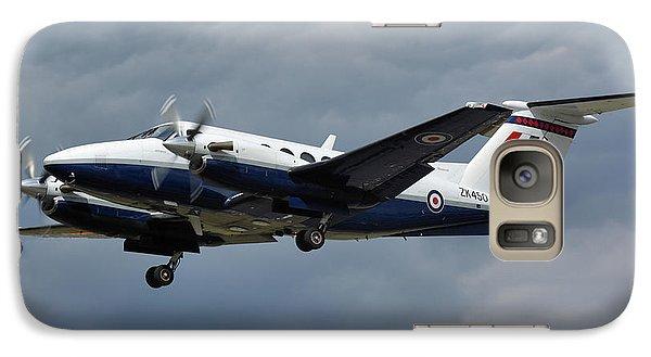 Galaxy Case featuring the photograph Raf Beech King Air 200  by Tim Beach