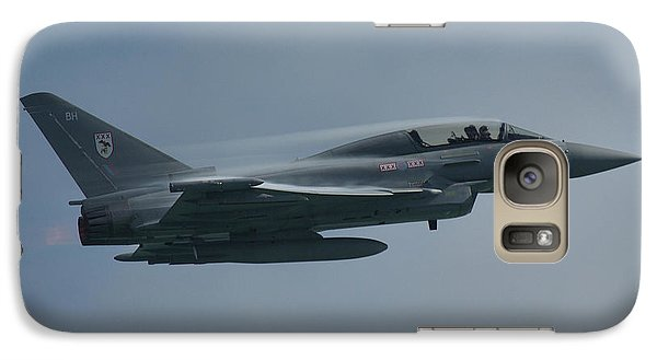 Galaxy Case featuring the photograph Raf Eurofighter Typhoon T1  by Tim Beach