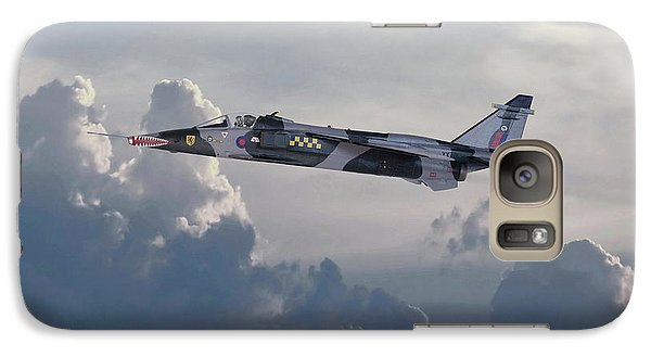 Galaxy Case featuring the photograph Raf Jaguar Gr1 by Pat Speirs