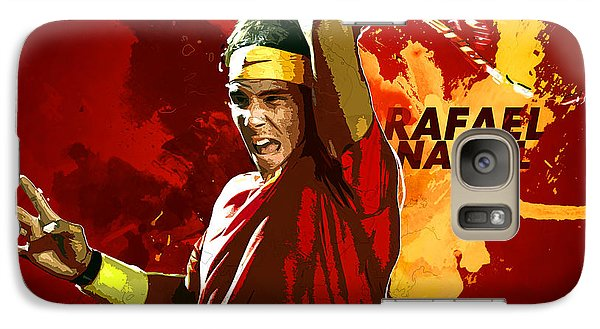 Serena Williams Galaxy S7 Case - Rafael Nadal by Semih Yurdabak