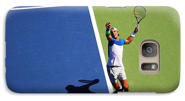 Rafeal Nadal Tennis Serve Galaxy S7 Case