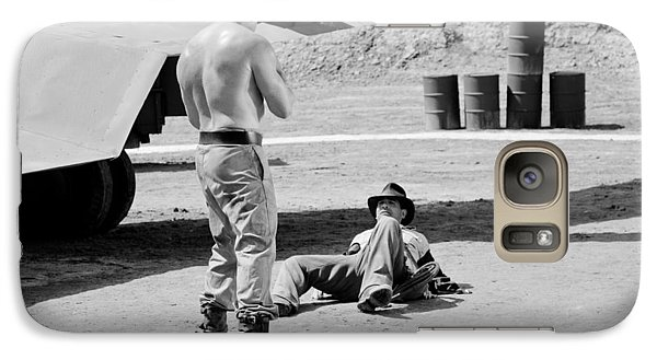Galaxy Case featuring the photograph Raiders by Shelly Stallings