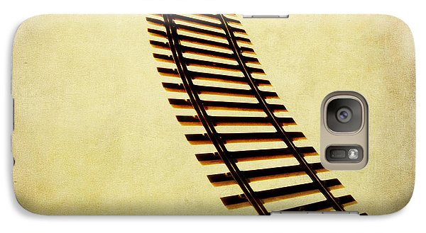 Train Galaxy S7 Case - Railway by Bernard Jaubert