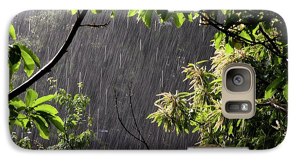 Galaxy Case featuring the photograph Rain by Bruno Spagnolo