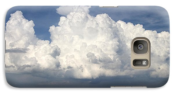 Galaxy Case featuring the photograph Rain Clouds Over Lake Apopka by Carl Purcell