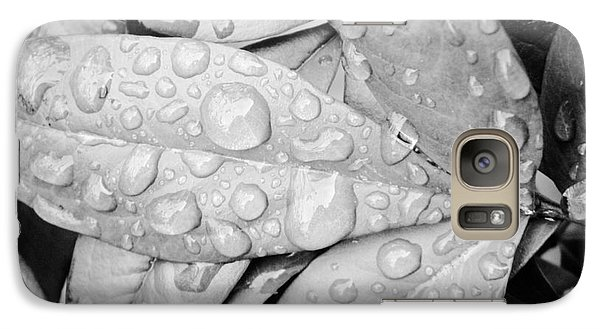 Galaxy Case featuring the photograph Rain Drops by Robin Coaker