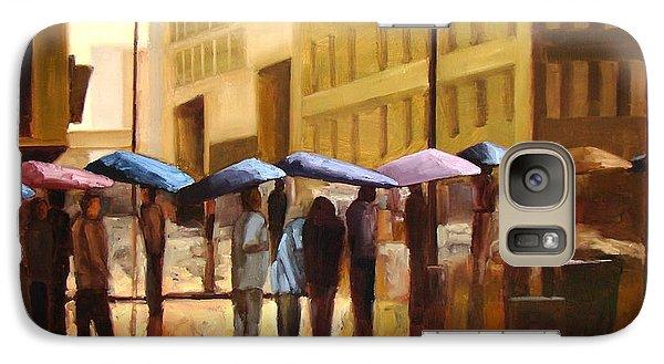 Rain In Manhattan Number Seventeen Galaxy Case by Tate Hamilton