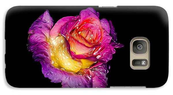 Rain-melted Rose Galaxy S7 Case