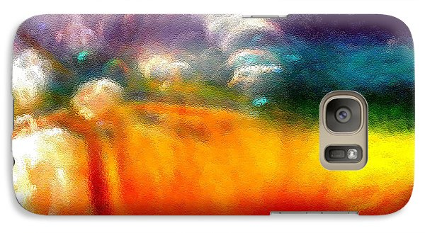 Galaxy Case featuring the photograph Rainbow Bliss #052833_ii by Barbara Tristan