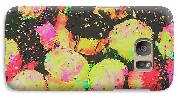 Colours Galaxy S7 Case - Rainbow Color Cupcakes by Jorgo Photography - Wall Art Gallery