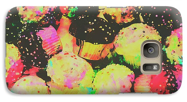 Fairy Galaxy S7 Case - Rainbow Color Cupcakes by Jorgo Photography - Wall Art Gallery