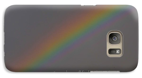 Galaxy Case featuring the photograph Rainbow Connection by Julia Wilcox