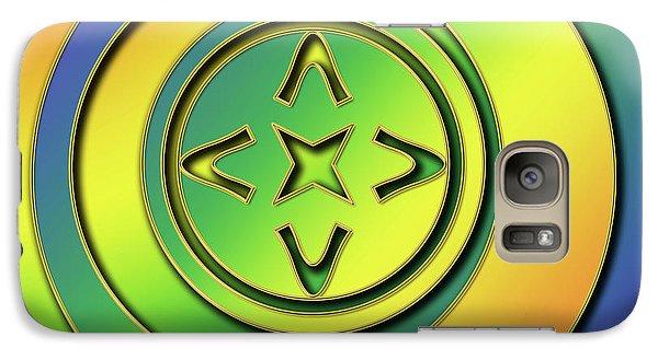 Galaxy Case featuring the digital art Rainbow Design 2 by Chuck Staley