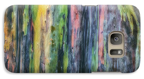 Galaxy Case featuring the photograph Rainbow Forest by Ryan Manuel
