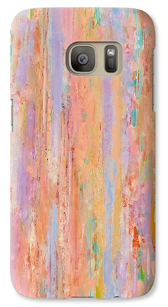 Galaxy Case featuring the painting Spring Fusion by Irene Hurdle