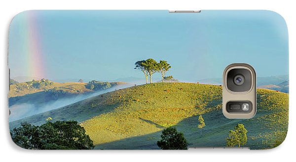 Galaxy Case featuring the photograph Rainbow Mountain by Az Jackson