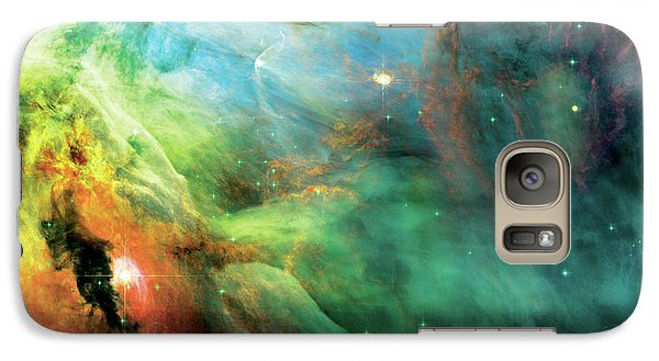 Abstract Galaxy S7 Case - Rainbow Orion Nebula by Jennifer Rondinelli Reilly - Fine Art Photography
