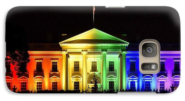 Rainbow White House  - Washington Dc Galaxy S7 Case