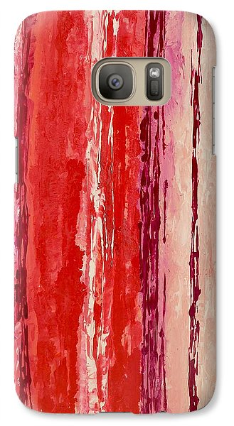 Galaxy Case featuring the painting Raindance 2 by Irene Hurdle