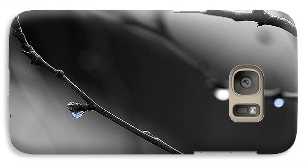 Galaxy Case featuring the photograph Raindrops by Angela Rath