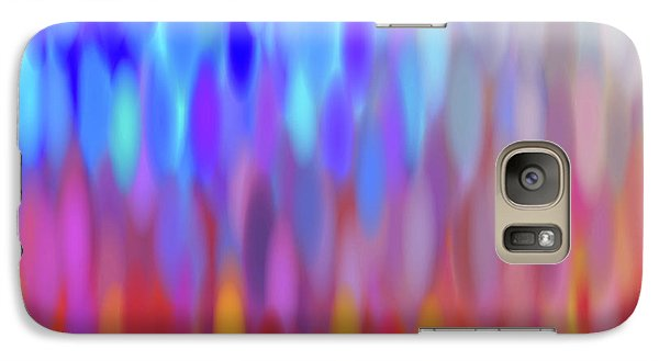 Galaxy Case featuring the digital art raindrops No.1 by Tom Druin
