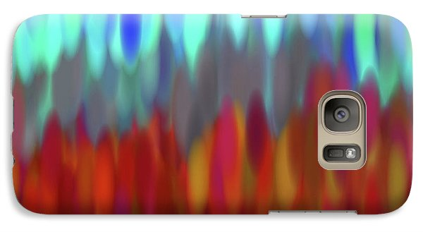 Galaxy Case featuring the digital art raindrops No.2 by Tom Druin