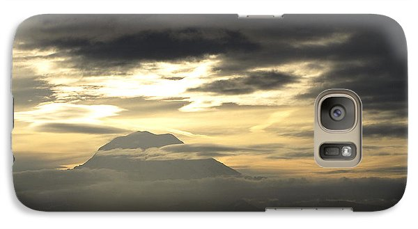 Galaxy Case featuring the photograph Rainier 4 by Sean Griffin