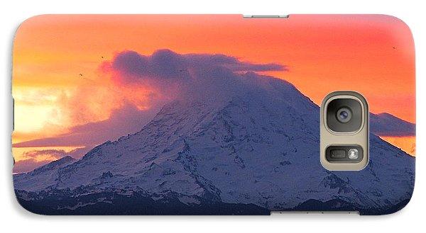 Galaxy Case featuring the photograph Rainier 6 by Sean Griffin